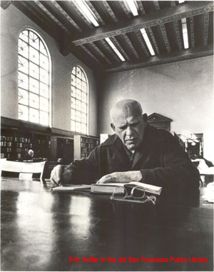 Eric Hoffer in the San Francisco Library