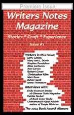 Writers Notes Magazine, Issue #1